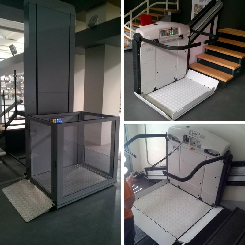 Invalidska dvigala, dvižna ploščad,